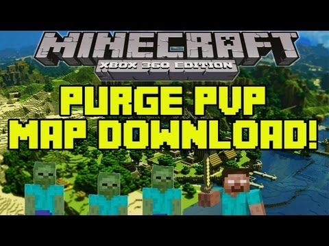 Minecraft Xbox 360 Edition- Purge PvP Map w/Download (HD)