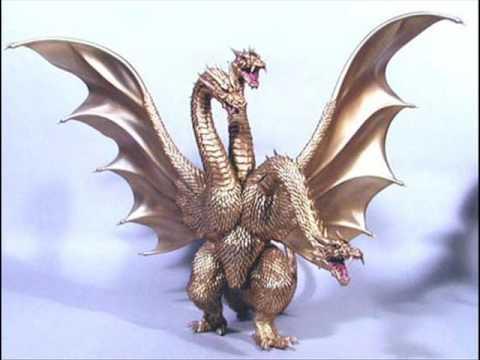 King Ghidorah 2001 GMK Millenium Sounds