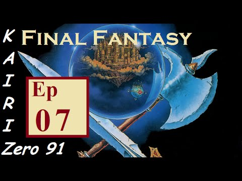 Lets Play Final Fantasy NES Ep07 Earth Cave Vampire