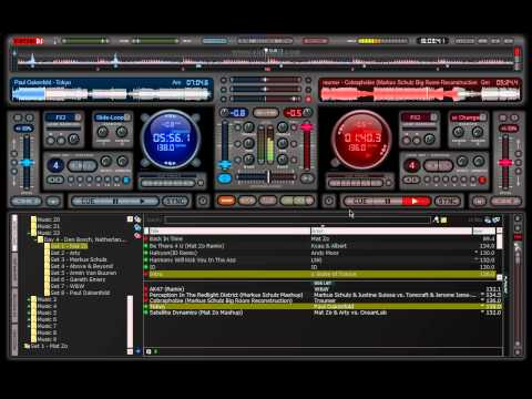 Trance Mix Virtual DJ Fading/Beatmixing