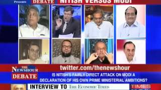 Subramanian Swamy on Nitish Vs Modi