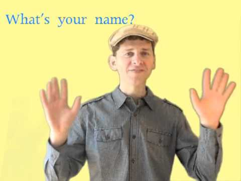 What's Your Name? Song For Kids video