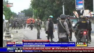 Aksi Unjuk Rasa di Kantor DPRD Banggai Berakhir Bentrok