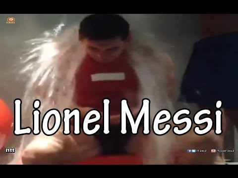 Lionel Messi ALS Ice Bucket Challenge
