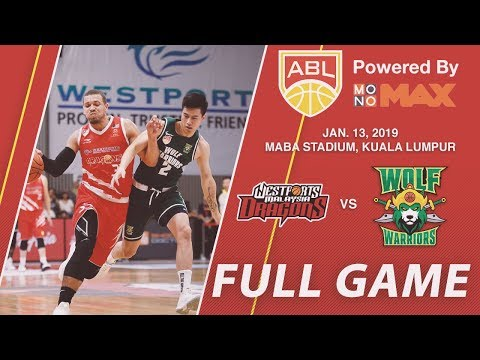 Westports Malaysia Dragons v Wolf Warriors | FULL GAME | 2018-2019 ASEAN Basketball League