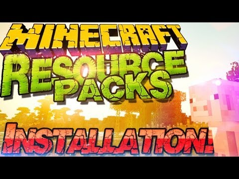  Minecraft 1.8.3 Resource Packs Installieren  Texture Packs & Sound Packs  German Deutsch Mac Win