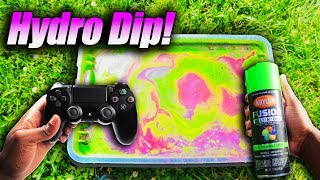 Hydro Dipping PLAYSTATION 4 Controller!