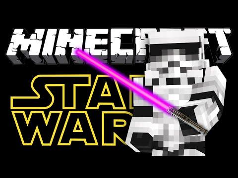 МОД ЗВЕЗДНЫЕ ВОЙНЫ - Minecraft (Обзор Мода)