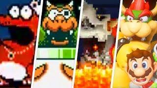 Evolution of Final Boss Deaths in Super Mario Games (1985 - 2018)