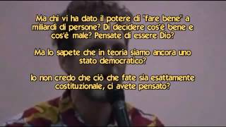 Jovanotti intervento shock all