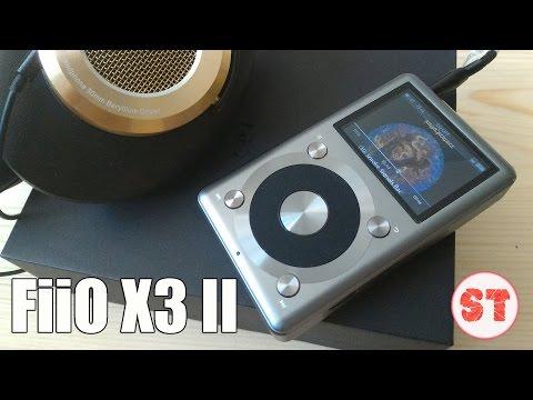 Fiio X3 II Titanium обзор Hi-Fi аудио плеера высокого качества