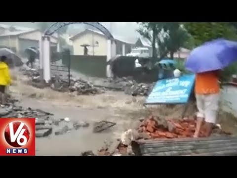 Govt Issues Red Alert Due To Heavy Rains In Uttarakhand | V6 News