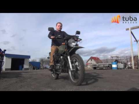 Brzeg Dakar Romet ADV 150 przygotowania do wyjazdu