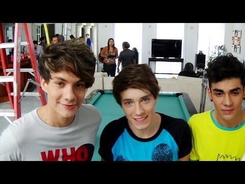 CD 9 -  GRABACION -  VIDEO -  ME EQUIVOQUE -  DETRAS DE CAMARAS