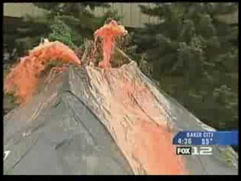 Fox 12 news MHCC volcano Video