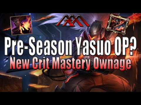 Pre-Season 6 Yasuo OP? - League of Crit - League of Legends
