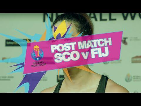 NWC2015 #SCO v #FIJ Post Match Interviews