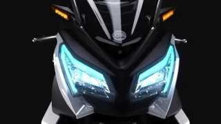 2016 NEW SYM MAXSYM 500 CONCEPT official promo video