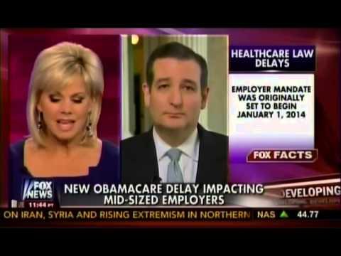 Sen. Ted Cruz with Gretchen Carlson