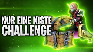 NUR EINE KISTE CHALLENGE! 📦🤬 | Fortnite: Battle Royale