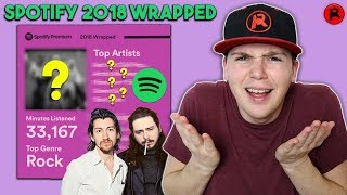 REACTING TO MY MOST PLAYED MUSIC OF 2018