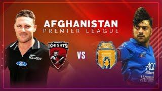 APLT20 2018 M8: Kabul Zwanan v Kandahar Knights Live stream, Afghanistan Premier League T20 - APLT20