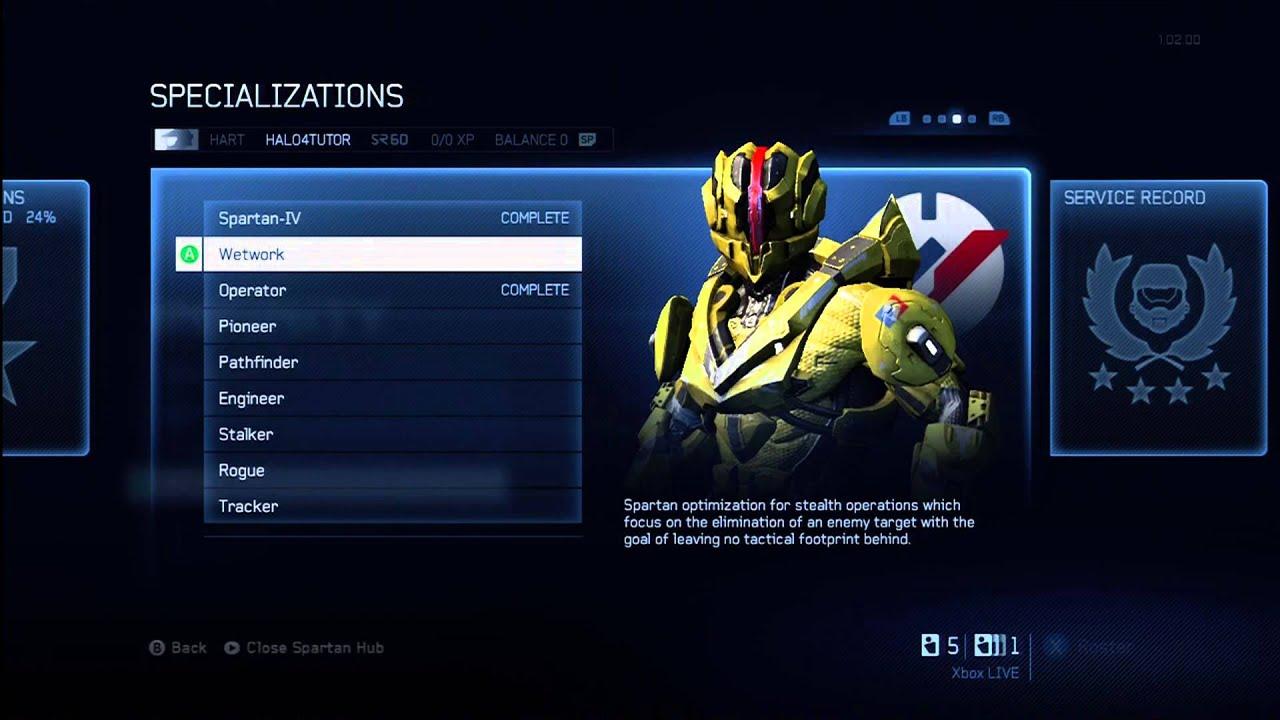 Halo 4 Tips & Tricks | Wetwork Specialization Details ...