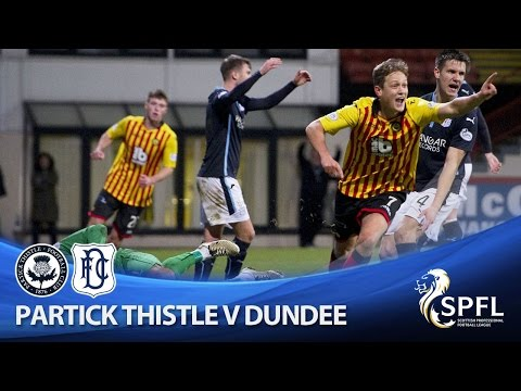 Late drama at Firhill as Dundee hold Thistle