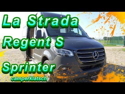 La Strada Regent S auf Sprinter 2019 I PKW Technik im Wohnmobil I Wohnmobile 2019 I camperklatsch