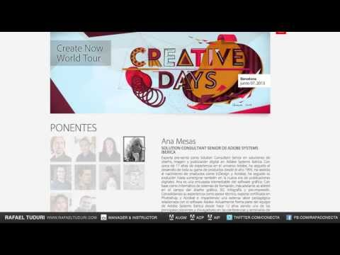 Muestra tu trabajo en el #CreativeDays de Adobe. #ConectaTutoriales