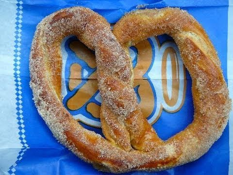 Auntie Anne's Cinnamon-Sugar Pretzels Recipe