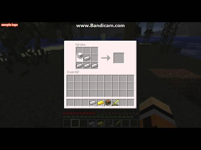 minecraft návod na kovadlinu