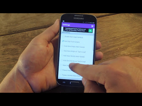 Secretly Save Snapchat Images & Videos on Non-Rooted Android [How-To]