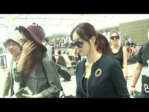 [Dispatch & IQIYI] 150618 T-ARA @ Incheon Airport heading to Nanjing