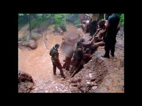 Royal Marines Commando Look At Life The Endurance Course