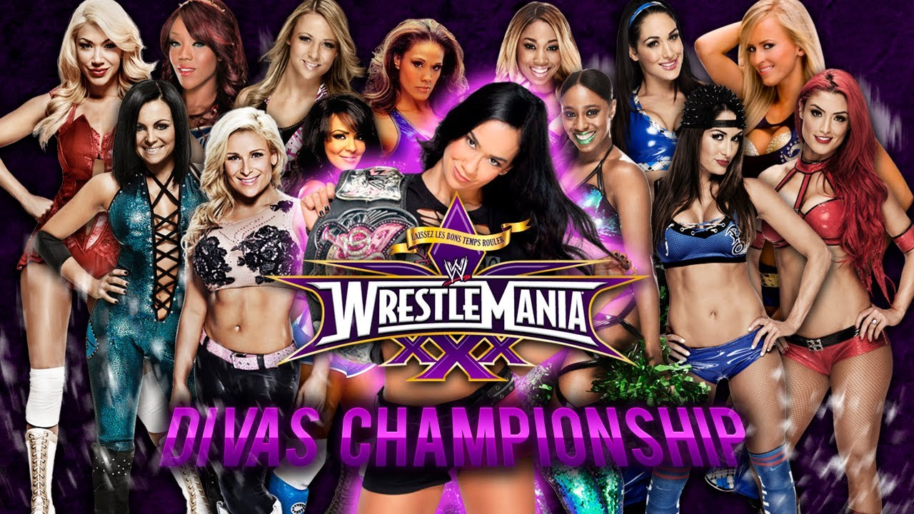 Match Wwe Wrestlemania 30 Wwe Wrestlemania 30 Divas
