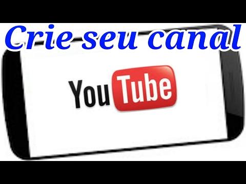 Como criar um canal no youtube pelo celular thumbnail