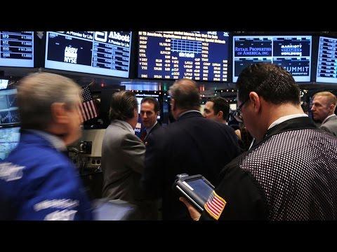 Wall Street Extends Records; Deutsche Bank Halves Quarterly Profit