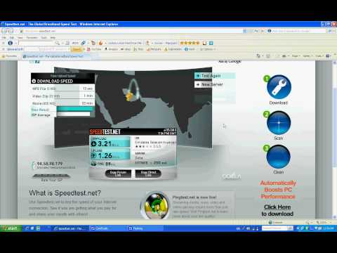 0 Etisalat mobile broadband USB modem speed test and download speed.avi