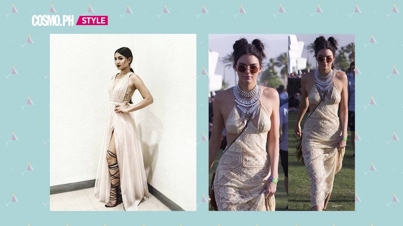 15 Outfits That Prove Nadine Lustre And Kendall Jenner Are Style Twins