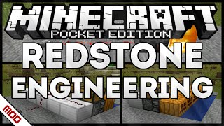 [0.15.0/0.16.0] REDSTONE ENGINEERING MOD - MINECRAFT PE