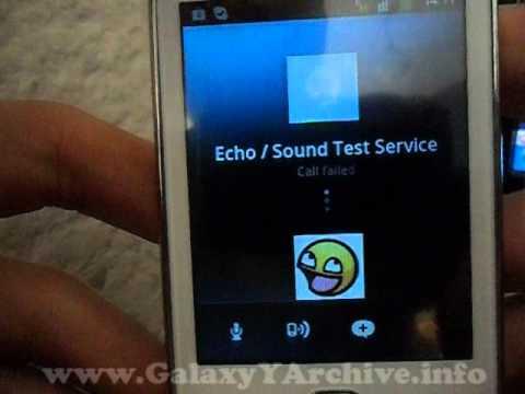 Samsung Galaxy Y (GT-S5360) - Skype