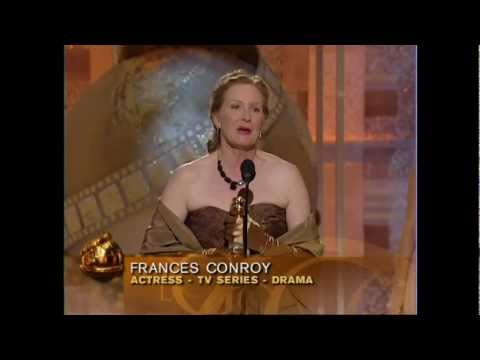 Frances Conroy Wins Best Actress TV Series Drama - Golden Globes 2004