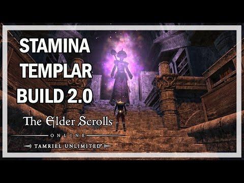 Stamina Templar 2.0 Build Guide 2016 - The Elder Scrolls Online Gameplay Review