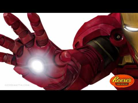 IRONMAN 2 - Speed Painting by Nico Di Mattia