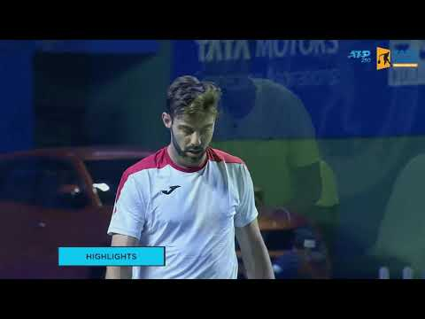 Marcel Granollers vs Ramkumar Ramnathan Highlights | Day 2 (TOM 2019)