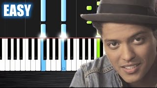 Download Lagu Bruno Mars - Just The Way You Are - EASY Piano Tutorial by PlutaX - Synthesia Gratis STAFABAND
