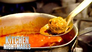 Head Chef Of Italian Restaurant Can't Make Meatballs | Kitchen Nightmares