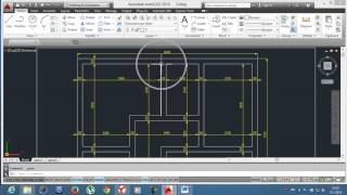 6-)Basit Mimari plan / AutoCAD Education /