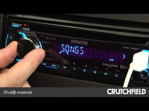 Kenwood Excelon KDC-X597 Car CD Receiver Display and Controls Demo | Crutchfield Video